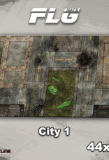 "Frontline-Gaming FLG Mats: City 1 44"" x 30"""
