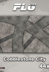 "Frontline-Gaming FLG Mats: Cobblestone City 1 44"" x 30"""