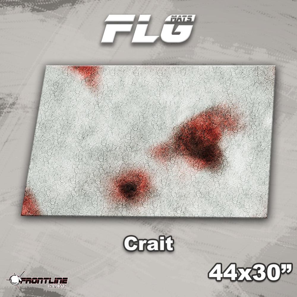 "Frontline-Gaming FLG Mats: Crait 44"" x 30"""