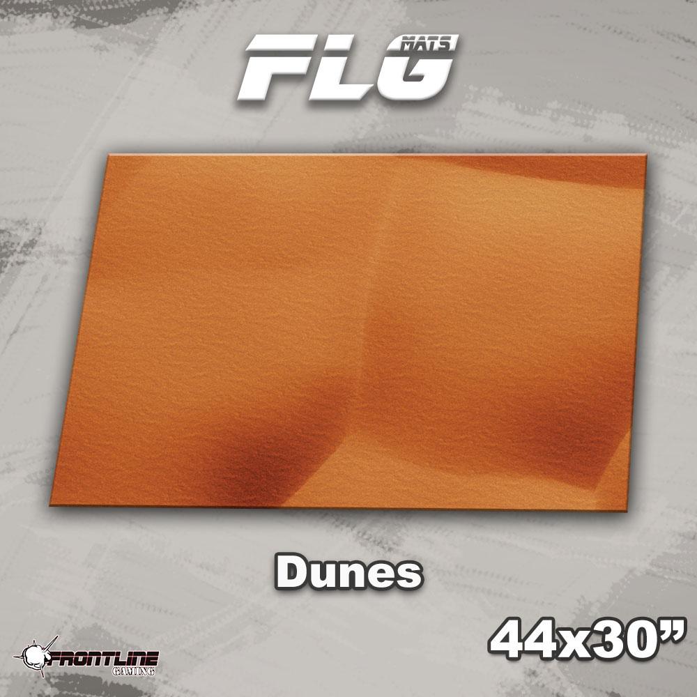 "Frontline-Gaming FLG Mats: Dunes 44"" x 30"""