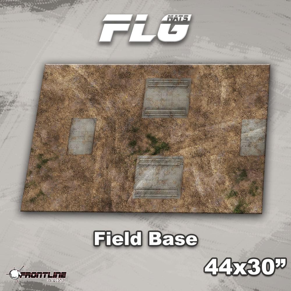 "Frontline-Gaming FLG Mats: Field Base 44"" x 30"""