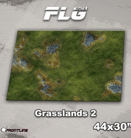 """Frontline-Gaming FLG Mats: Grasslands 2 44"""" x 30"""""""