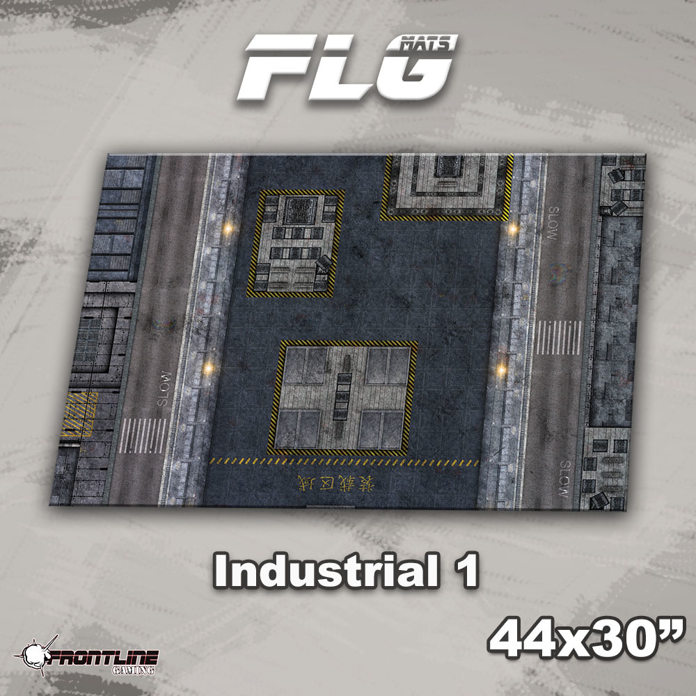 "Frontline-Gaming FLG Mats: Industrial 1 44"" x 30"""