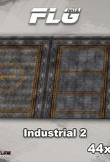 "Frontline-Gaming FLG Mats: Industrial 2 44"" x 30"""