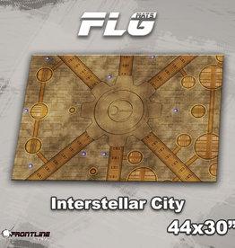"""Frontline-Gaming FLG Mats: Interstellar City 44"""" x 30"""""""