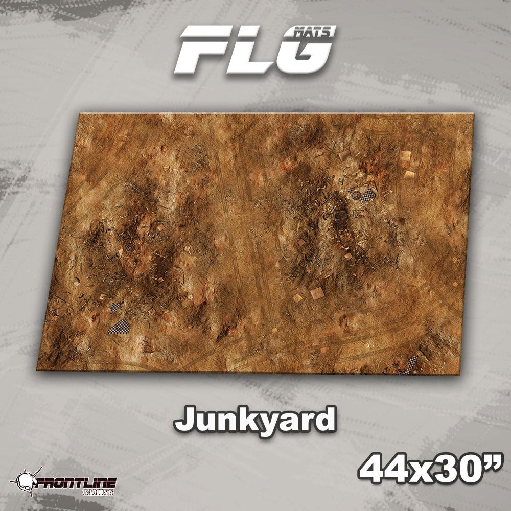 "Frontline-Gaming FLG Mats: Junkyard 44"" x 30"""