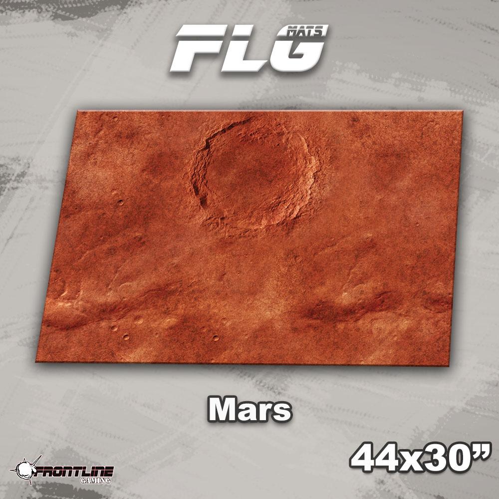 "Frontline-Gaming FLG Mats: Mars 1 44"" x 30"""
