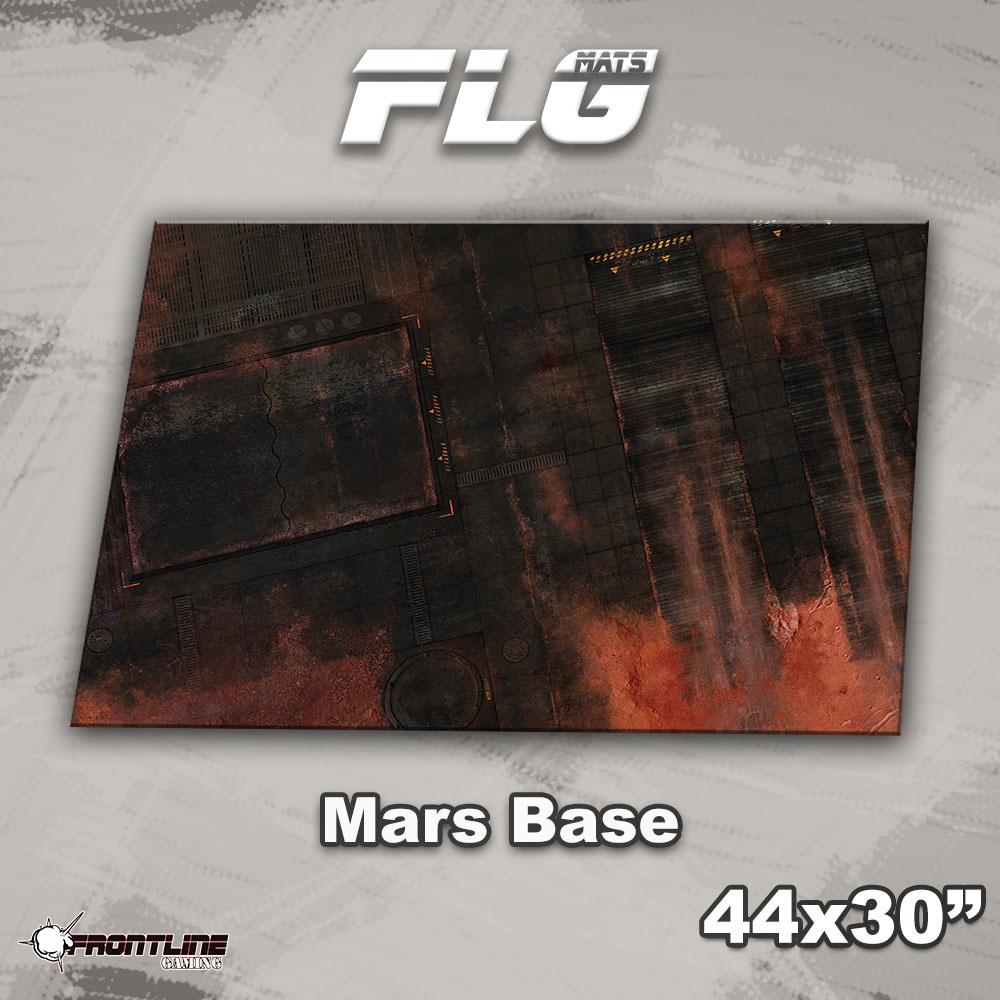 "Frontline-Gaming FLG Mats: Mars Base 44"" x 30"""