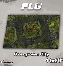 "Frontline-Gaming FLG Mats: Overgrown City 44"" x 30"""