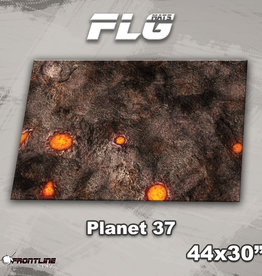 "Frontline-Gaming FLG Mats: Planet 37 44"" x 30"""