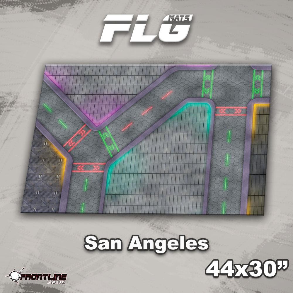 "Frontline-Gaming FLG Mats: San Angeles 44"" x 30"""