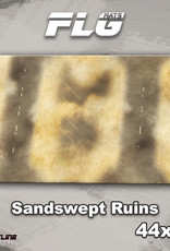 "Frontline-Gaming FLG Mats: Sandswept Ruins 44"" x 30"""