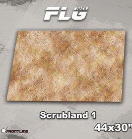"Frontline-Gaming FLG Mats: Scrubland 44"" x 30"""
