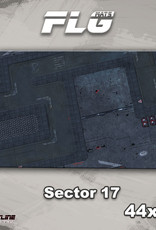 "Frontline-Gaming FLG Mats: Sector 17 44"" x 30"""