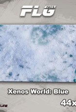 "Frontline-Gaming FLG Mats: Xenos World: Blue 44"" x 30"""