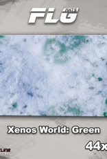 "Frontline-Gaming FLG Mats: Xenos World: Green 44"" x 30"""
