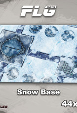 "Frontline-Gaming FLG Mats: Snow Base 44"" x 30"""