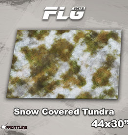 """Frontline-Gaming FLG Mats: Snow Covered Tundra 1 44"""" x 30"""""""