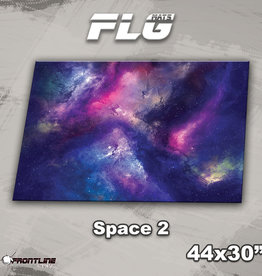 """Frontline-Gaming FLG Mats: Space 2 44"""" x 30"""""""