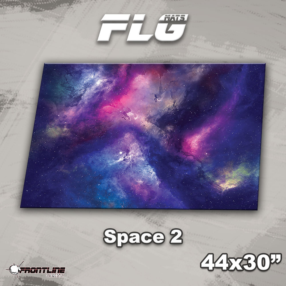 "Frontline-Gaming FLG Mats: Space 2 44"" x 30"""