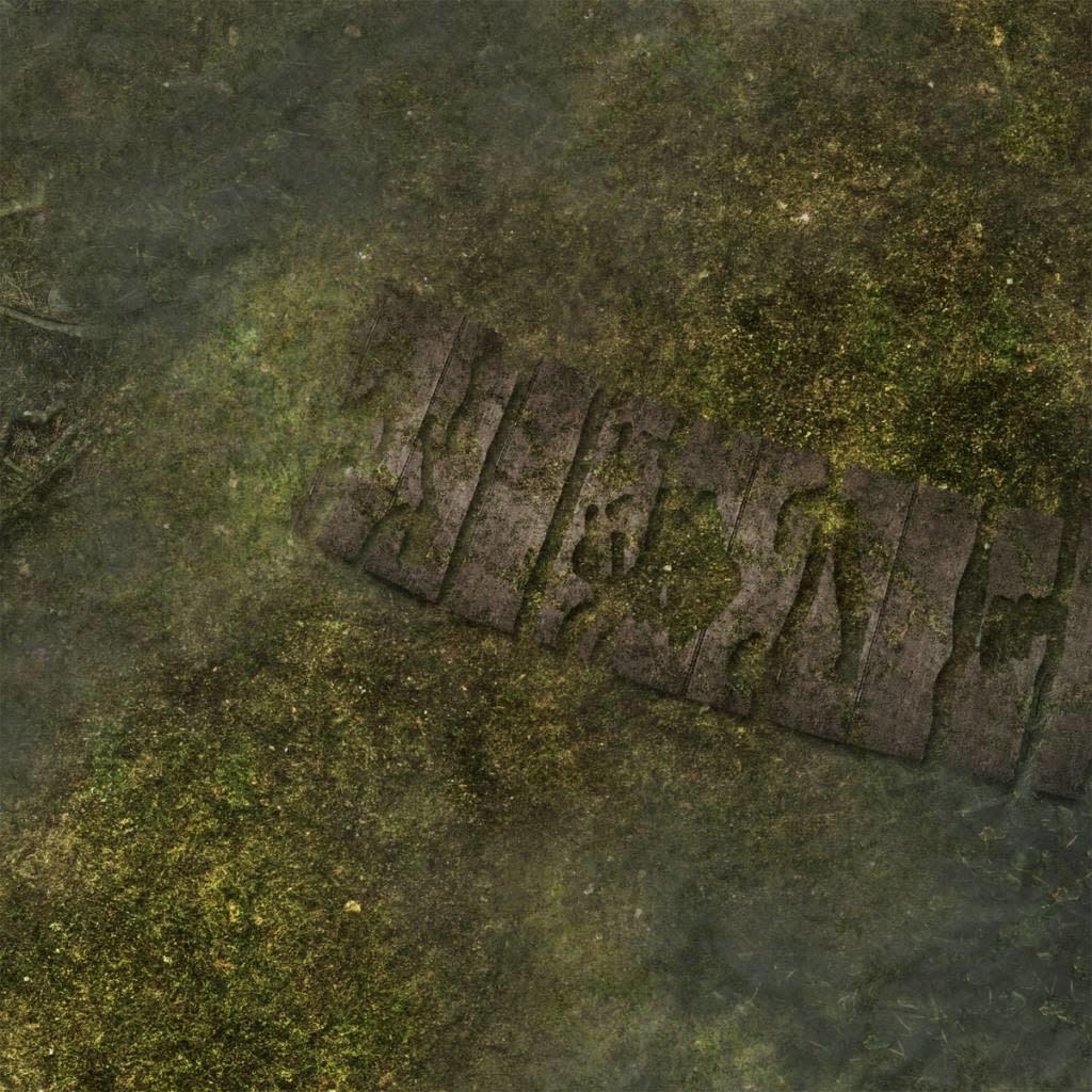 "Frontline-Gaming FLG Mats: Swamp 1 44"" x 30"""
