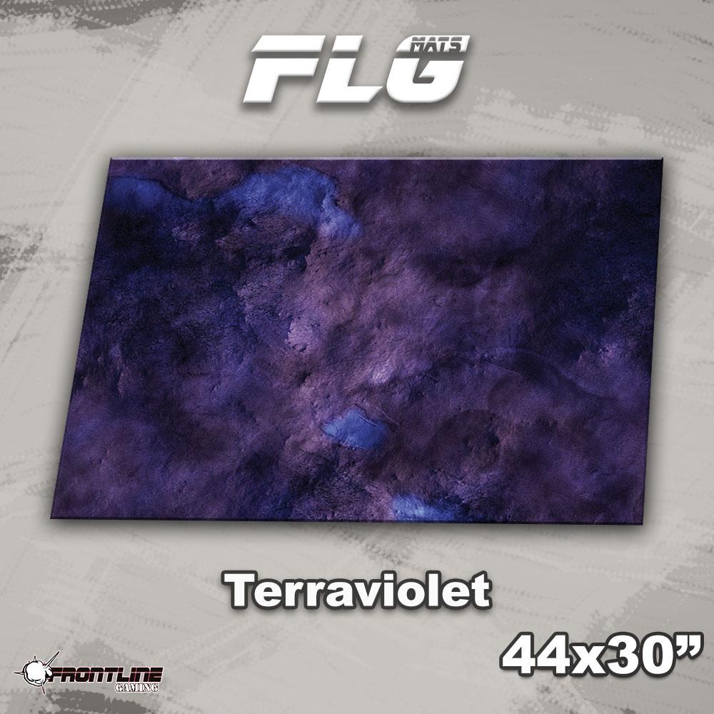 """Frontline-Gaming FLG Mats: Terraviolet 44"""" x 30"""""""