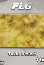 """Frontline-Gaming FLG Mats: Toxic Desert 44"""" x 30"""""""