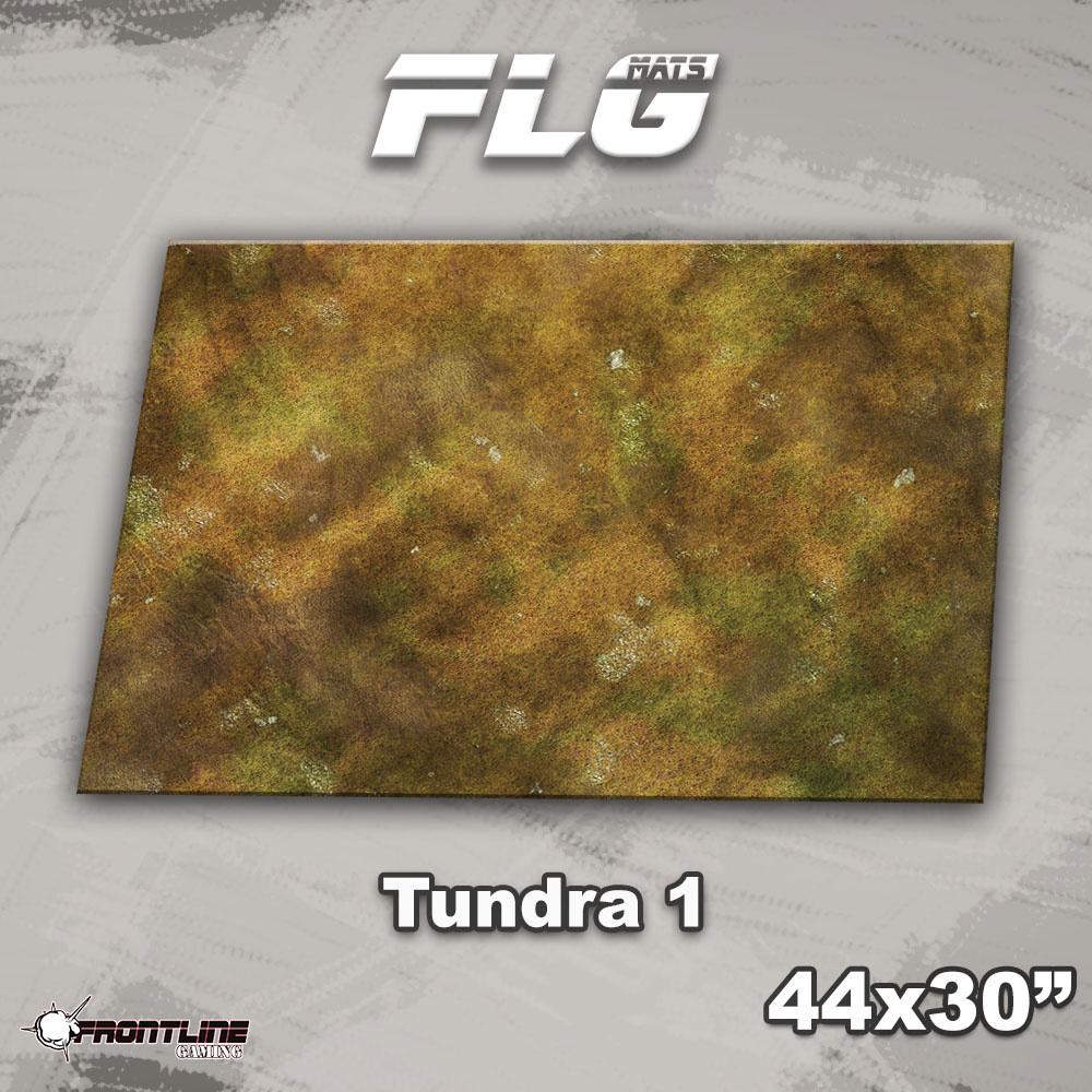 "Frontline-Gaming FLG Mats: Tundra 1 44"" x 30"""