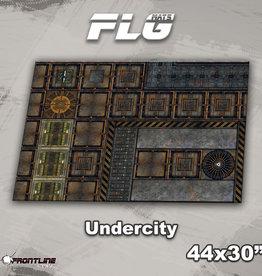 "Frontline-Gaming FLG Mats: Undercity 44"" x 30"""
