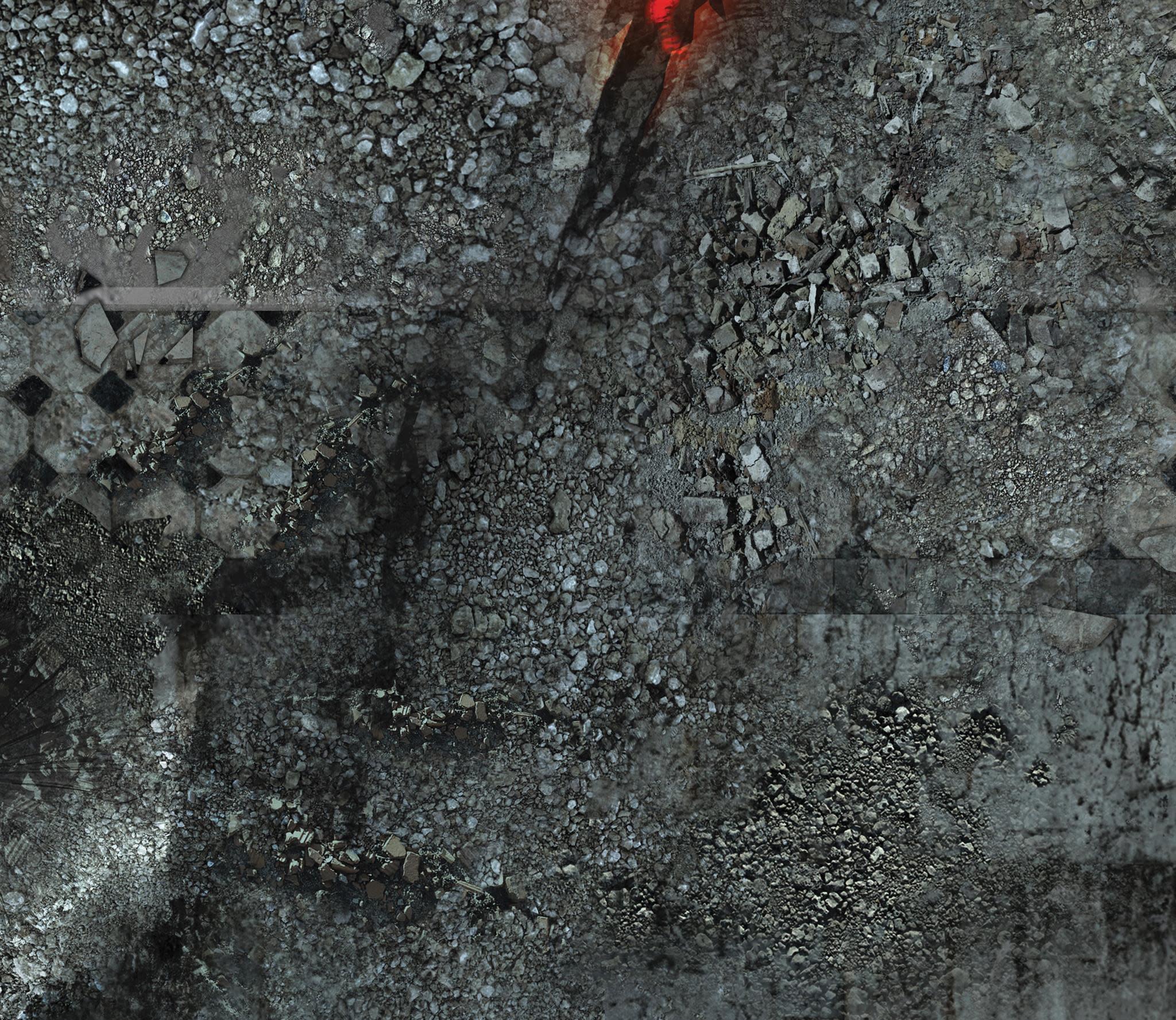 """Frontline-Gaming FLG Mats: Urban Chaos 44"""" x 30"""""""