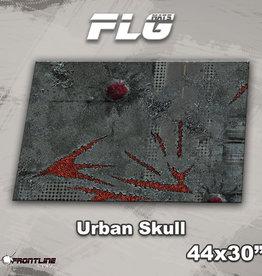 "Frontline-Gaming FLG Mats: Urban Skull 44"" x 30"""
