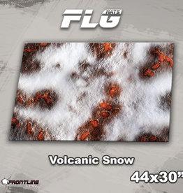 "Frontline-Gaming FLG Mats: Volcanic Snow 44"" x 30"""