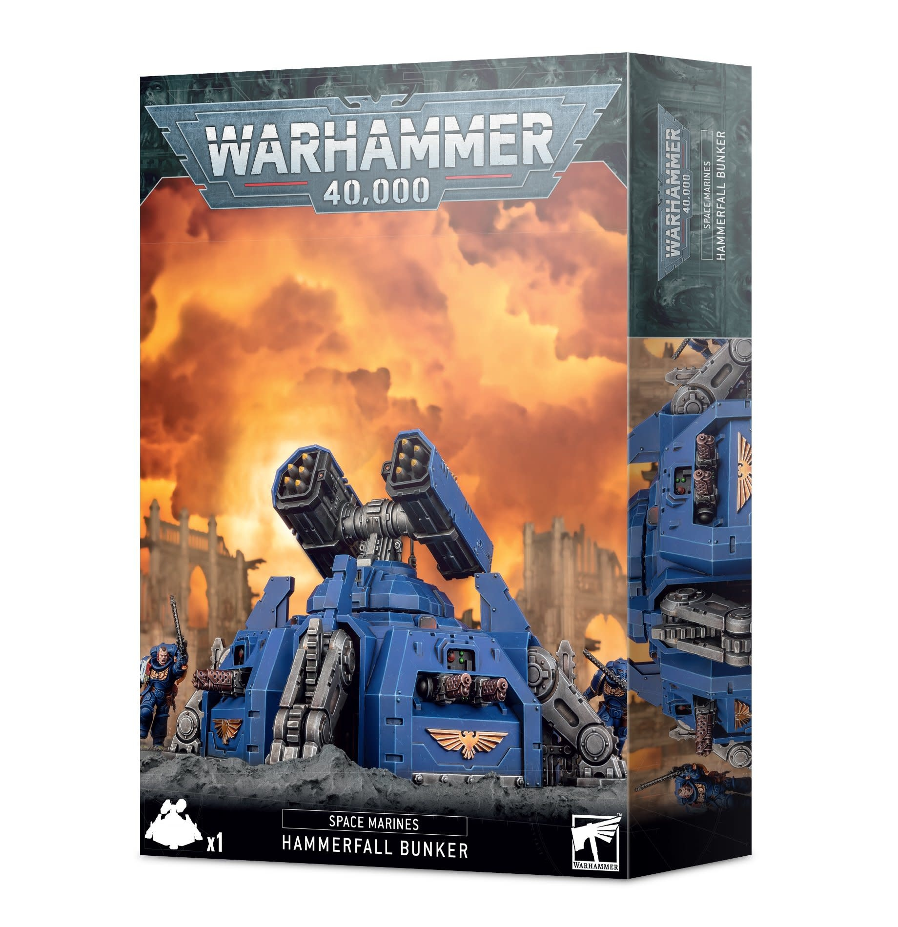 Games-Workshop Space Marines Hammerfall Bunker