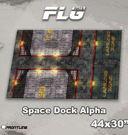 "Frontline-Gaming FLG Mats: Space Dock Alpha 44"" x 30"""