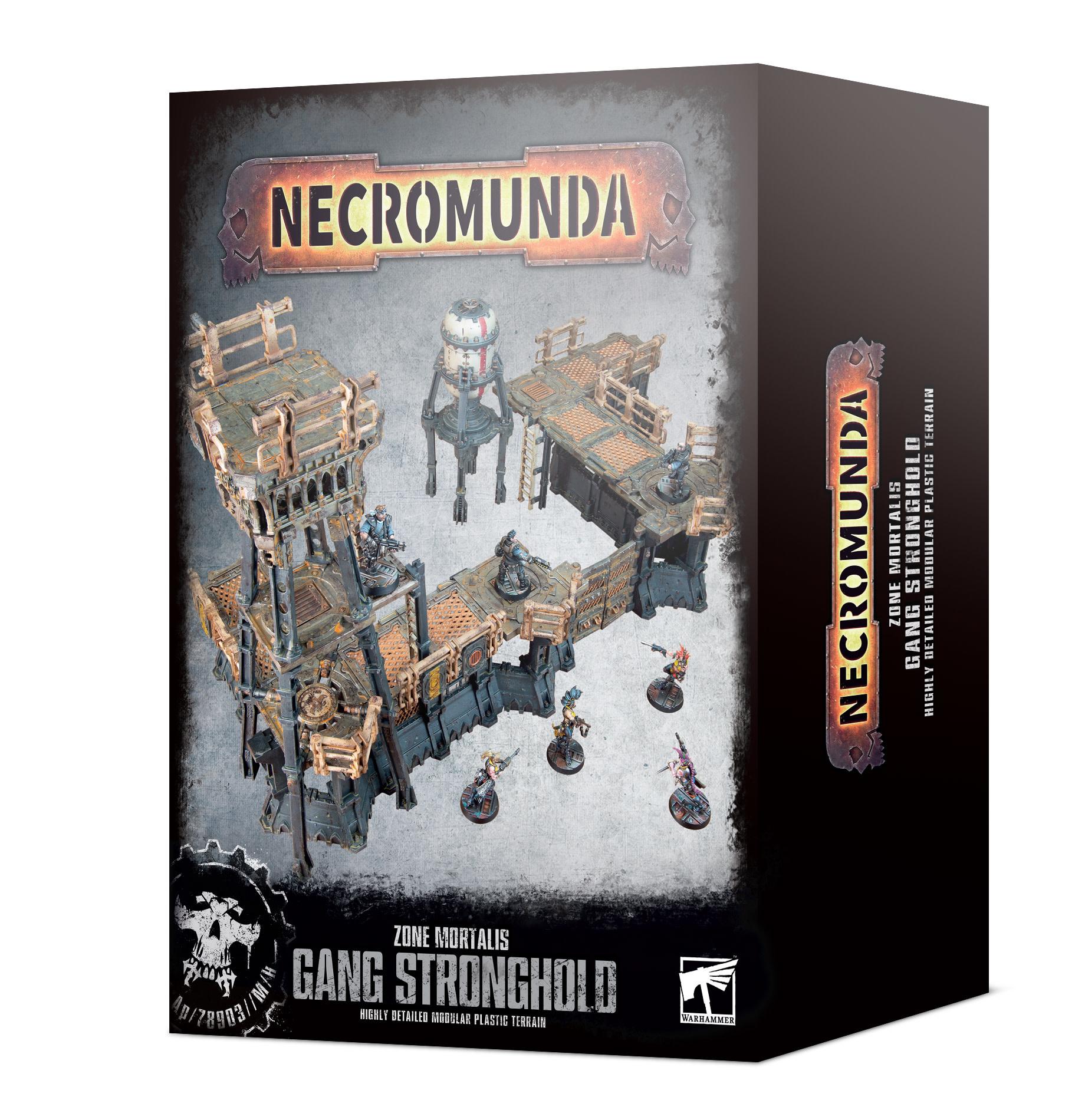 Games-Workshop Necromunda: Zone Mortalis Gang Stronghold