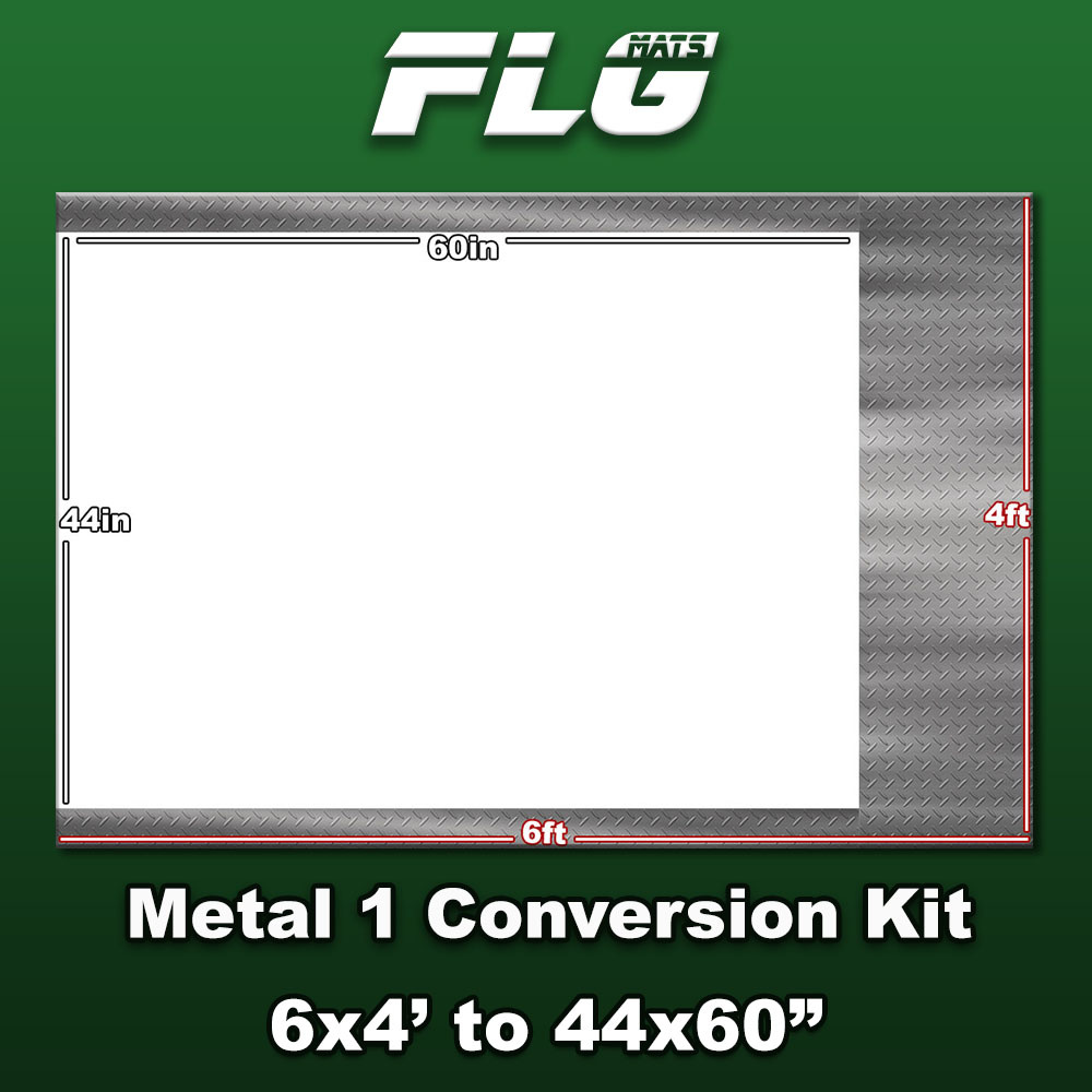 Frontline-Gaming FLG Mats: Metal Conversion Kit