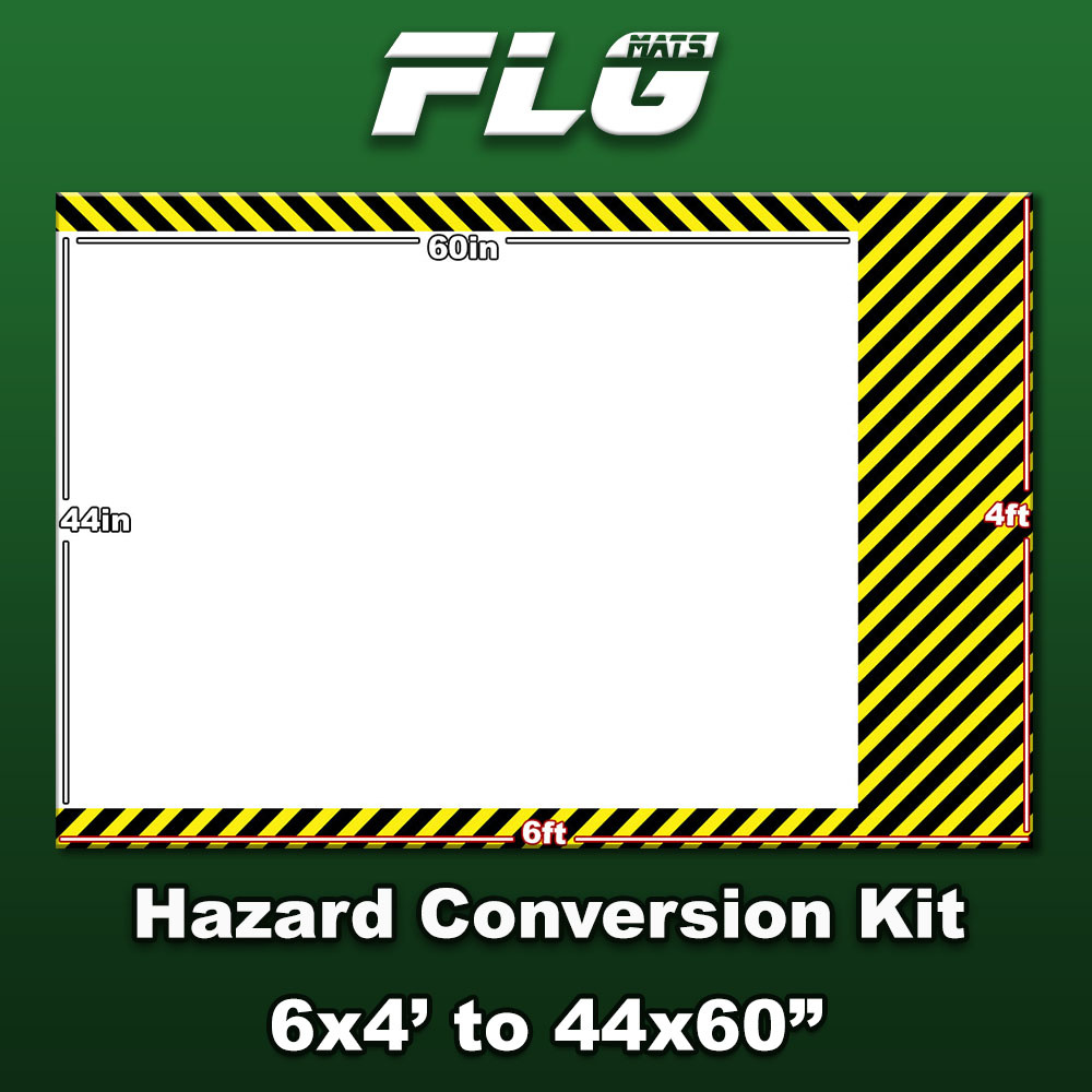 Frontline-Gaming FLG Mats: Hazard Conversion Kit