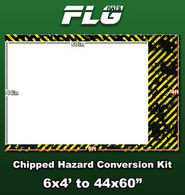 Frontline-Gaming FLG Mats: Chipped Hazard Conversion Kit