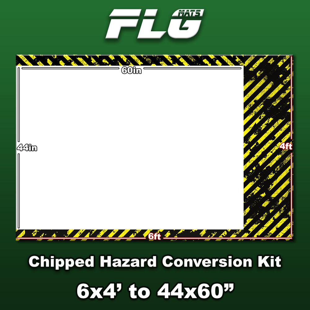 Frontline-Gaming FLG Mats: Chipped Hazard Conversion Kit
