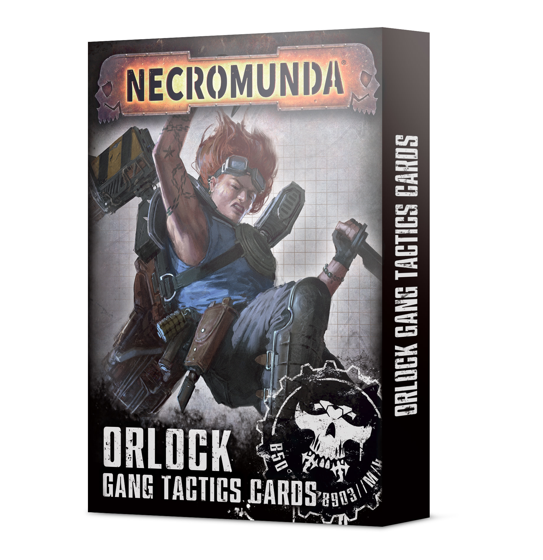 Games-Workshop Orlock Gang Tactics Cards