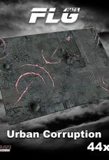"Frontline-Gaming FLG Mats: Urban Corruption 44"" x 60"""