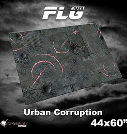 "Frontline-Gaming FLG Mats: Urban Corruption 44"" x 60"""