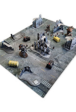 "Frontline-Gaming FLG Mats: Ruined City 44"" x 60"""