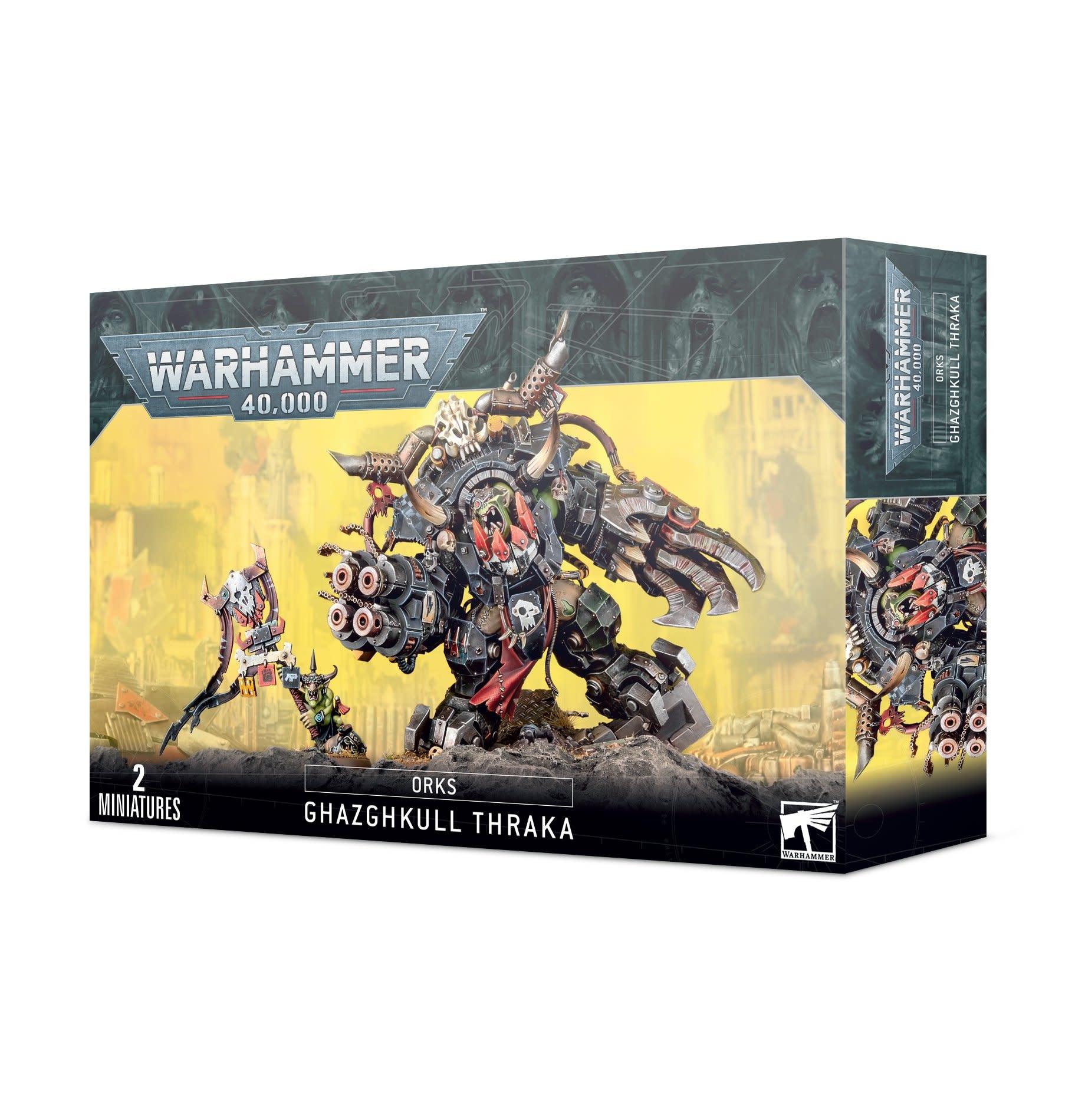 Games-Workshop Orks Ghazghkull Thraka