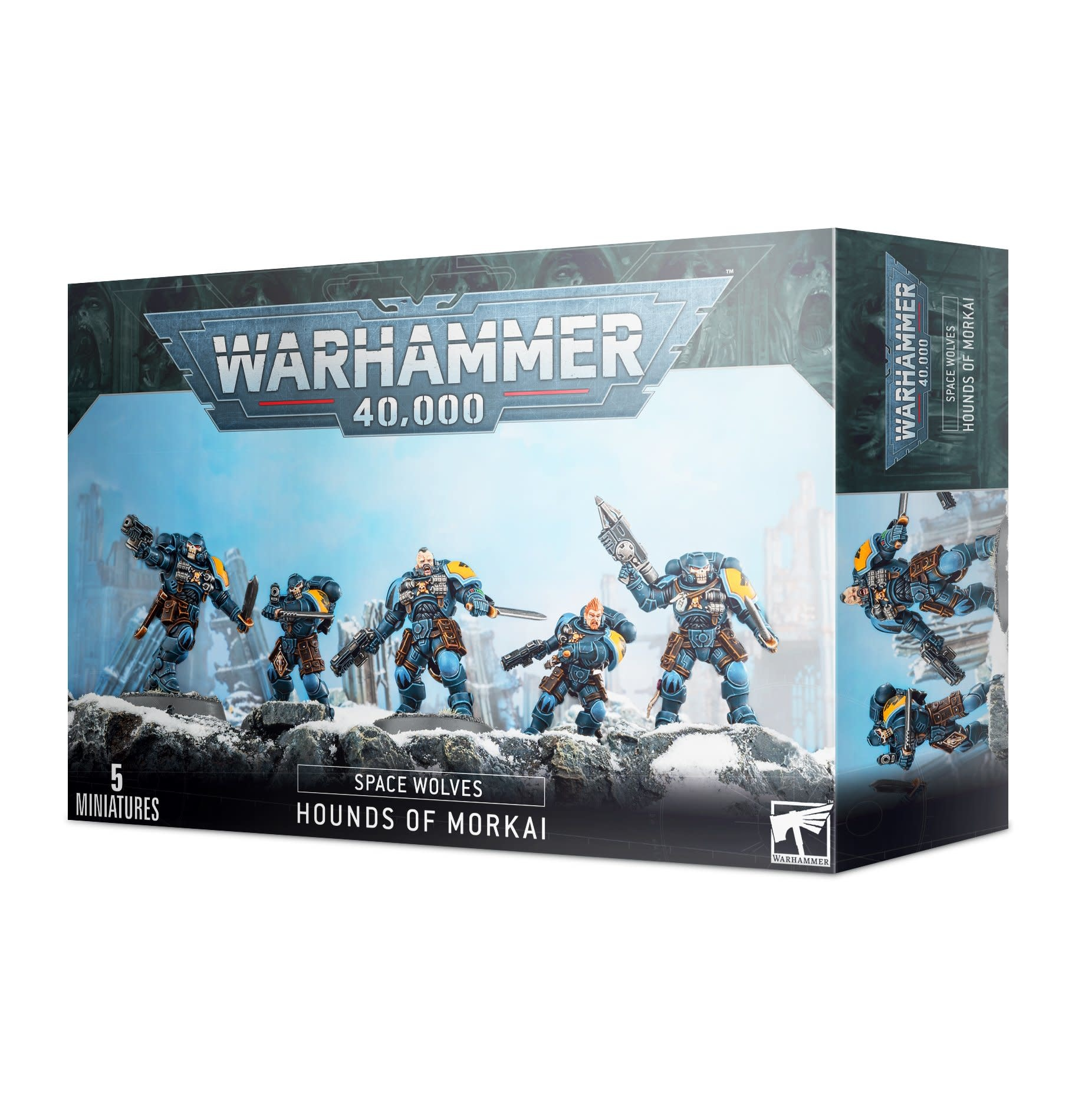Games-Workshop Space Wolves Hounds of Morkai