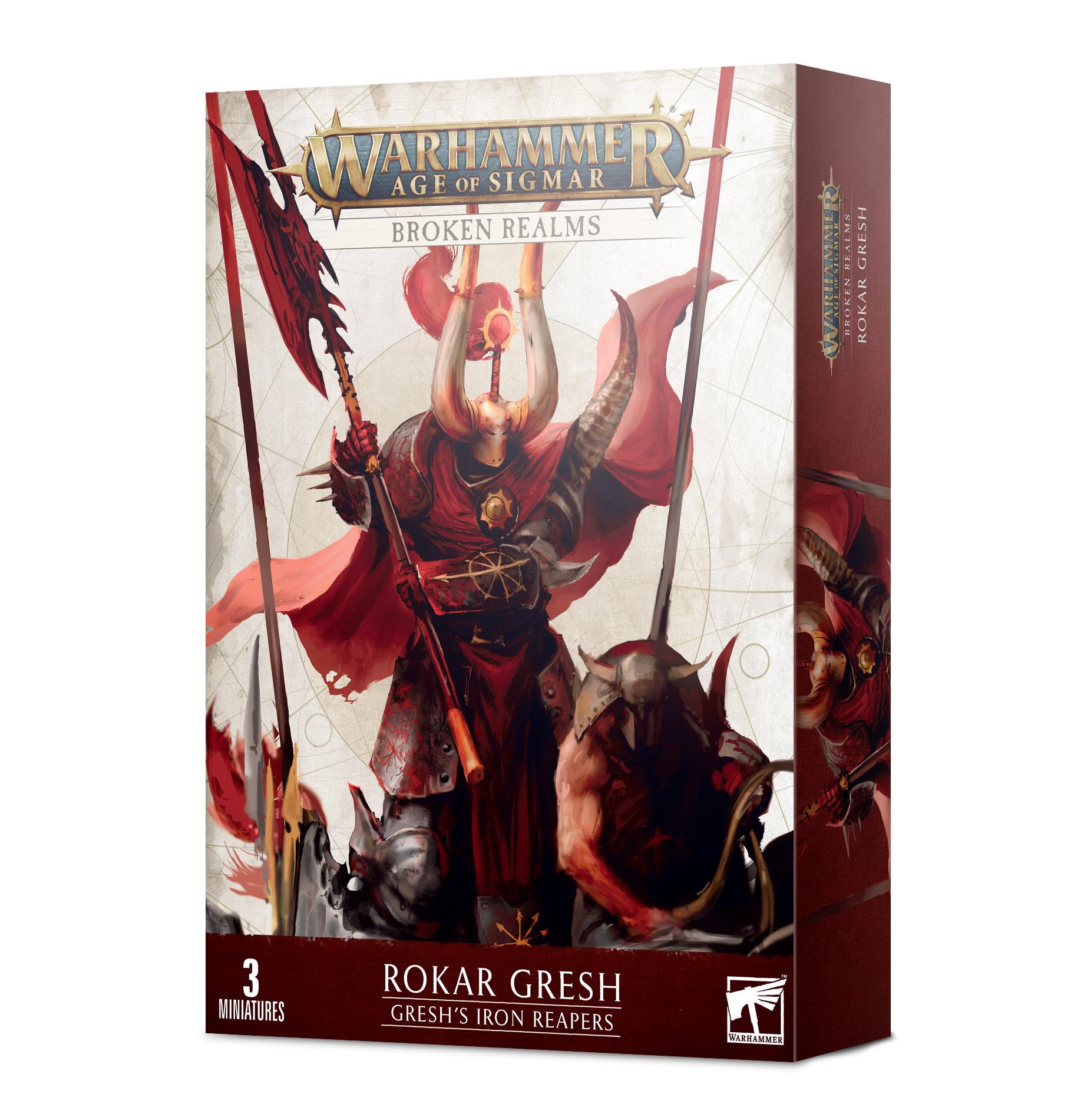 Games-Workshop Broken Realms: Gresh's Iron Reapers