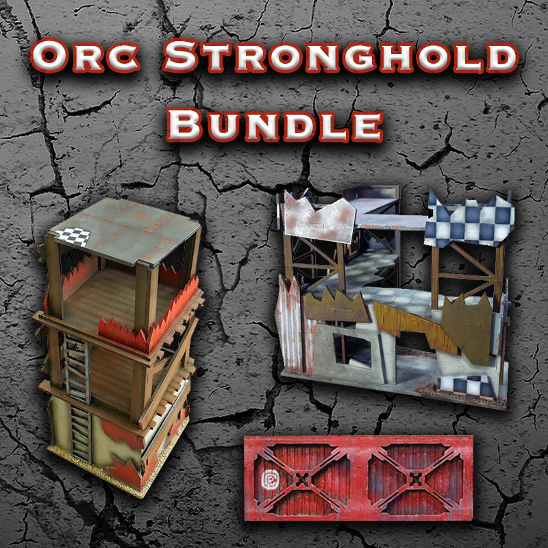 Frontline-Gaming ITC Terrain Series: Orc Stronghold Bundle