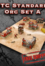Frontline-Gaming ITC Terrain Series: ITC Standard Orc Set A with Mat