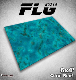 Frontline-Gaming FLG Mats: Coral Reef 6x4'