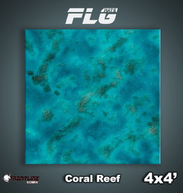 Frontline-Gaming FLG Mats: Coral Reef 4x4'